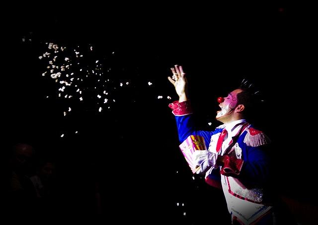 Iluzjonista cyrkowy